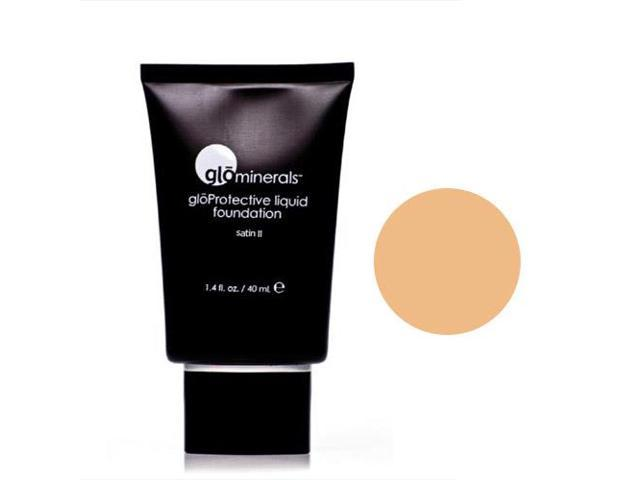 glominerals gloProtective Liquid Foundation Satin II Golden Light
