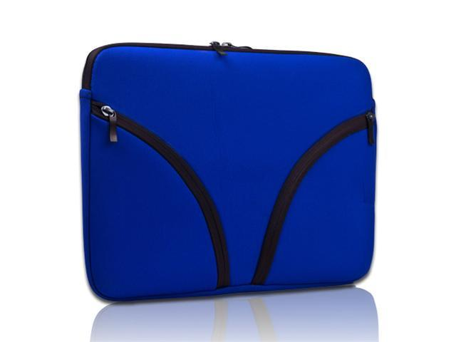 Blue Neoprene Soft Zipper Case Pouch Sleeve Cover Bag for 13.3'' Macbook Pro Air