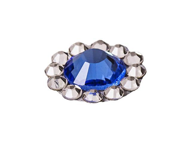 Blue Diamond Home Button Sticker For Apple New iPhone 5 5G 5th 4 4S 4GS Gen