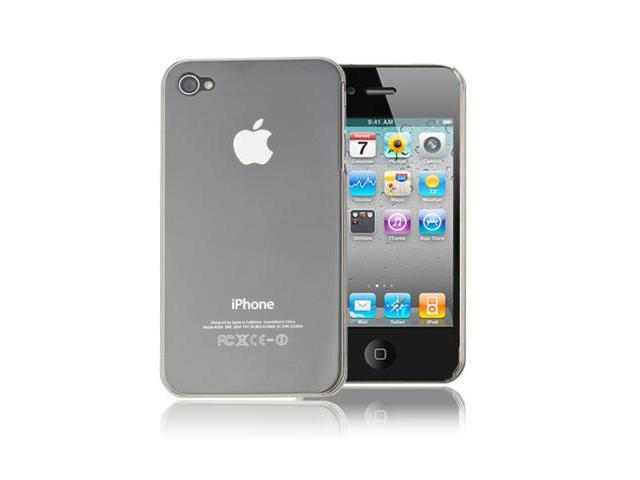 White Skin Cover Case For iPhone 4