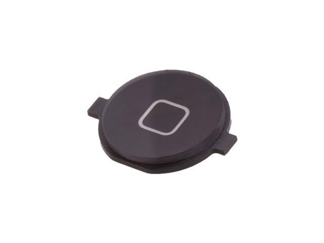 Replacement For iPhone 4 Black Home Menu Button Key Plastic Cap