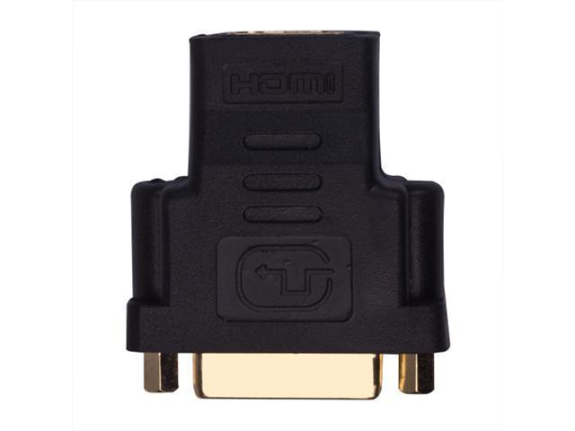 HDMI Female To DVI-D Single Link Female F/F Adapter For HDTV