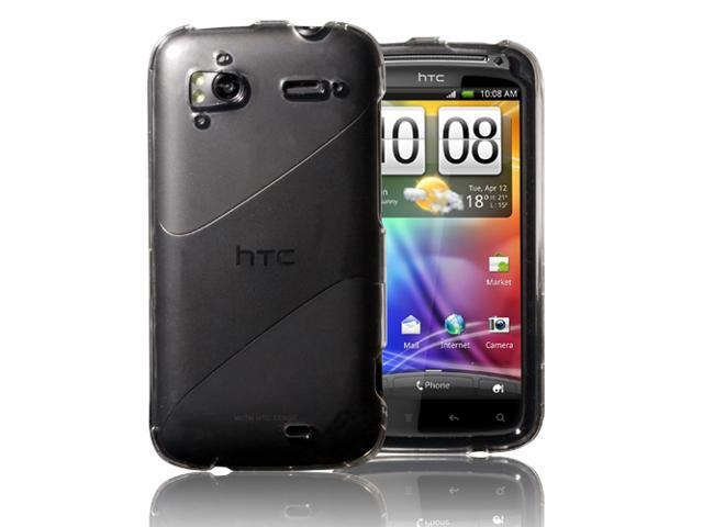 Crystal Hard Shell Case Cover For HTC Sensation 4G/G14