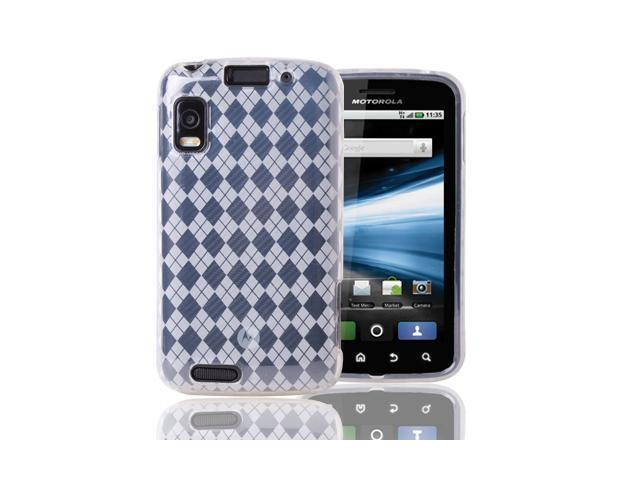 Clear TPU Gel Skin Case Cover For Motorola Atrix 4G MB860