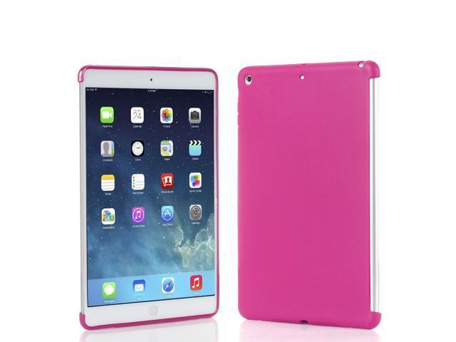 Apple iPad Air Case - Slim Fit Soft Gel TPU Back Case Smart Cover For Apple iPad Air iPad 5th Gen 2013 Model Pink