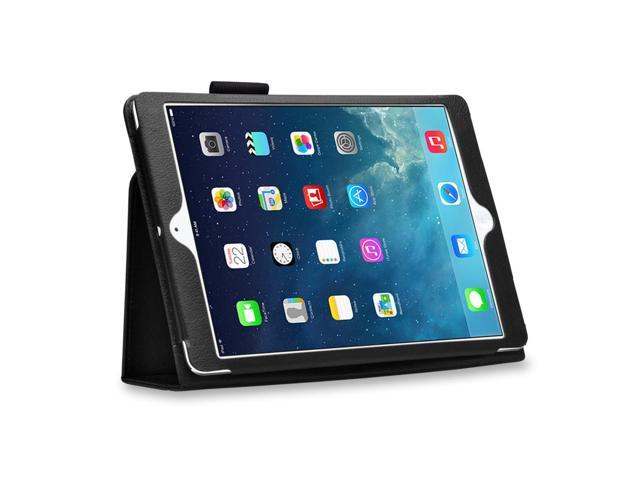 iPad 1 Case - Slim Fit PU Folio Leather Cover Stand - with Built-in Stand and Stylus Holder For Apple iPad 1 1st Generation ...