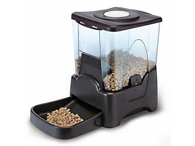 CE Compass Large Electronic Automatic Pet Feeder Station with Programmable Timer & Meal Portion Control LCD Display