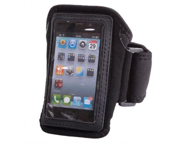 iPhone 4S/4 Armband Case - Gym Jogging Running Sport Armband Arm Holder Case Cover For Apple iPhone 4S 4 iPod Touch 4 3 Accessory Black