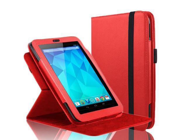 Google Nexus 7 Case - 360 Degree Rotating Folio Leather Case Smart Cover Stand For Google Nexus 7