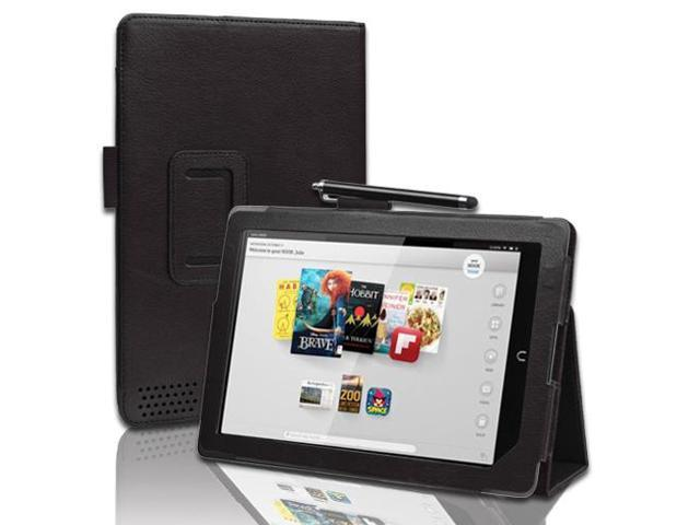 Nook HD 9 Case - Slim Fit Folio Leather Case Smart Cover Stand For Barnes & Noble Nook HD+ 9