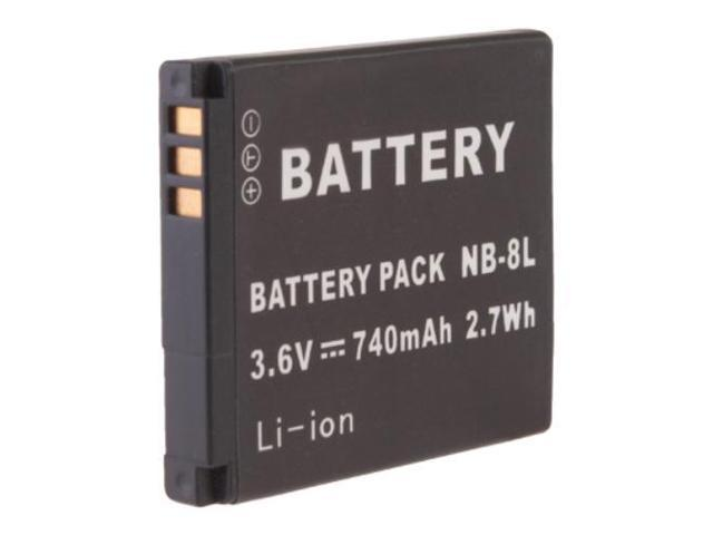3.7V 700mAh Rechargeable NB-8L NB8L Lithium Ion Replacement Battery Pack For Canon PowerShot A-Series A2200 A3000 IS A3100 IS A3200 IS A3300 IS