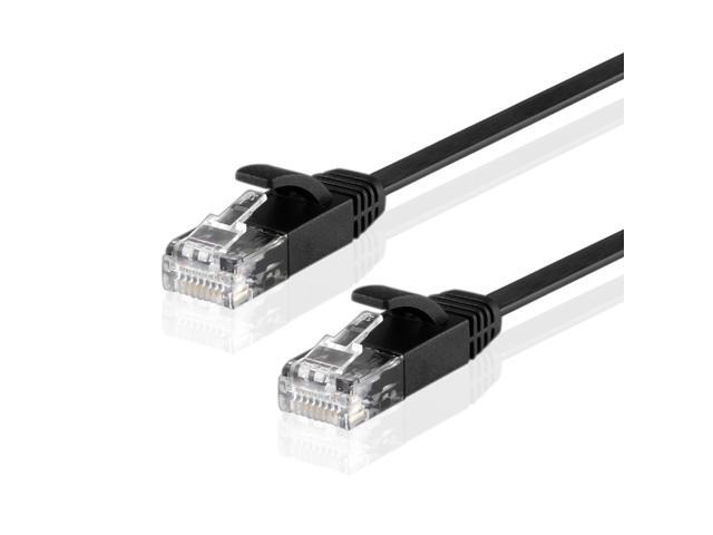 premium cat6 flat snagless ethernet patch cable high performance rh newegg com RJ45 Connection RJ45 Jack Wiring Diagram