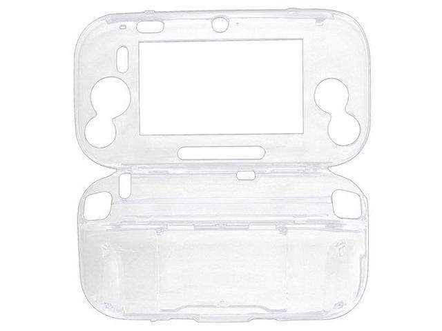 Wii U Case (Clear Transparent) - Hard Crystal Protective Case Cover Skin for Nintendo Wii U Gamepad Remote Controller
