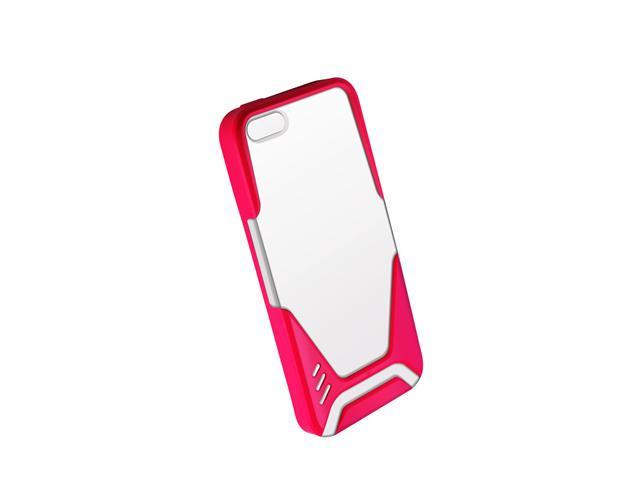 Hornettek White/Pink Ozone Visor Pro iPhone 5 Cover HT-IP5-02-WP