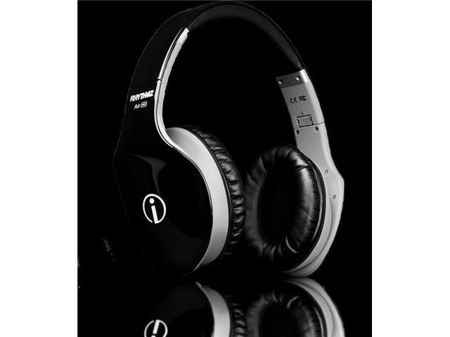RHYTHMZ AIR HD Over Ear Headphones (Black)