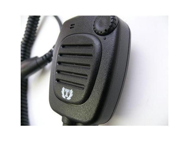 Hand Held Radio Shoulder Mic Speaker for Moto Turbo Should Mic heavy Duty