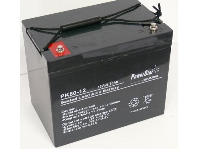 powerstar 12v 80ah for ub12750i4alt1 ub12750 group 24 agm sealed battery. Black Bedroom Furniture Sets. Home Design Ideas