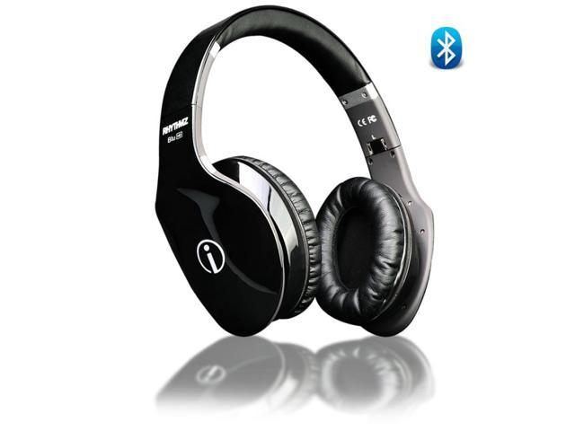 Wireless HD Fashion Hi-Fi Bluetooth Headphones w/ Touch Gesture Control (Black)