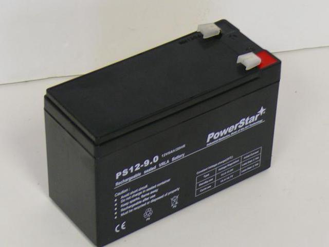 PowerStar PS-1290 Battery 12V 9AH 12 Volt 9 Amp 6-DW-9 CP1290 HR9-12 NEW