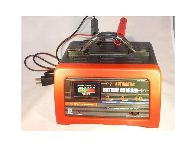 10 Amp 6 12 Volt Car Battery Charger Maintainer Deep Cycle Agm Newegg Com