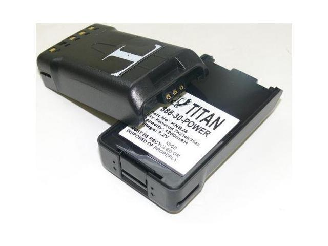 1200mAh KNB-25A KNB-26N Battery for KENWOOD TK-2140 TK-2148 TK-3140 TK-3148 X2
