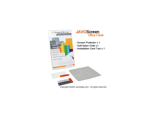 JAVOedge Ultra-Clear Screen Protector for Sony Ericsson P1i