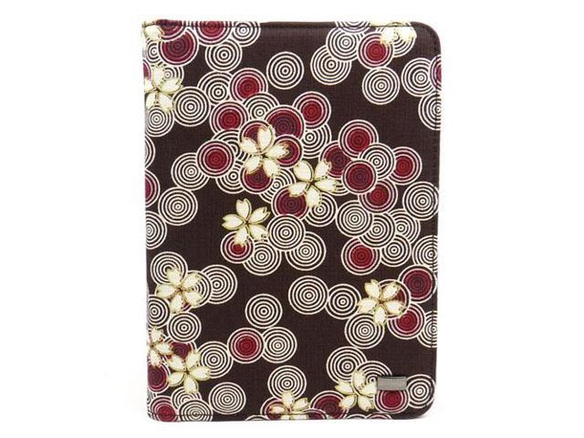 JAVOedge Cherry Blossom Book Case for Amazon Kindle Touch (Cocoa) Wi-Fi/3G