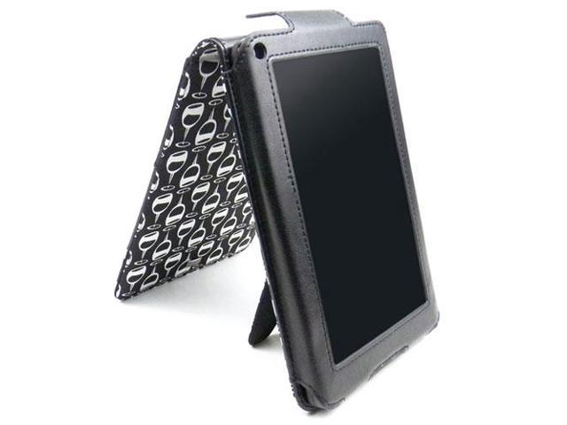 JAVOedge Wine Glass Flip Case with Stand for the Amazon Kindle Fire 7