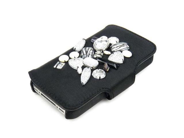 JAVOedge Jewel Case for Apple iPhone 4/4S (Black)