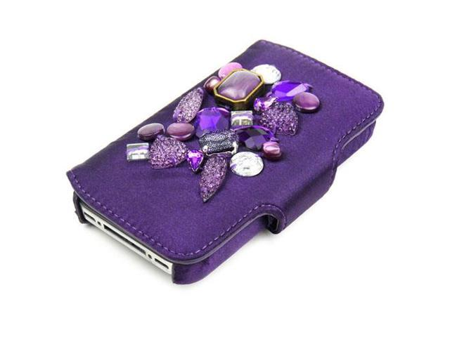 JAVOedge Jewel Case for Apple iPhone 4/4S (Purple)