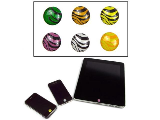 JAVOedge Home Button Sticker (Zebra)