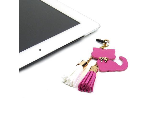 JAVOedge Hanging Cat Charm (Pink)