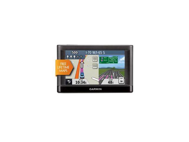 "Garmin Nuvi 42LM 4.3"" GPS Navigation with Lifetime Map Updates"
