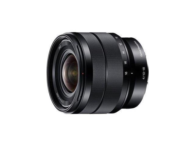 Sony SEL1018 10-18mm Wide-Angle Zoom Lens
