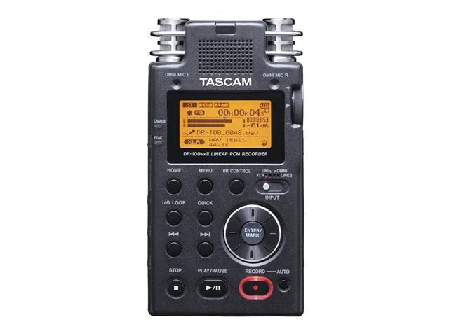 TASCAM DR-100mkII 2-Channel Portable Digital Recorder