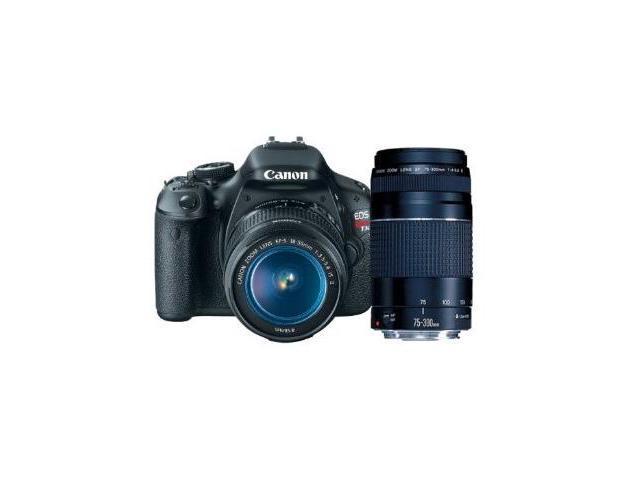 Canon EOS Rebel T3i 18 MP CMOS APS-C Sensor DIGIC 4 Image Processor Digital SLR Camera with EF-S 18-55mm f/3.5-5.6 IS Lens ...