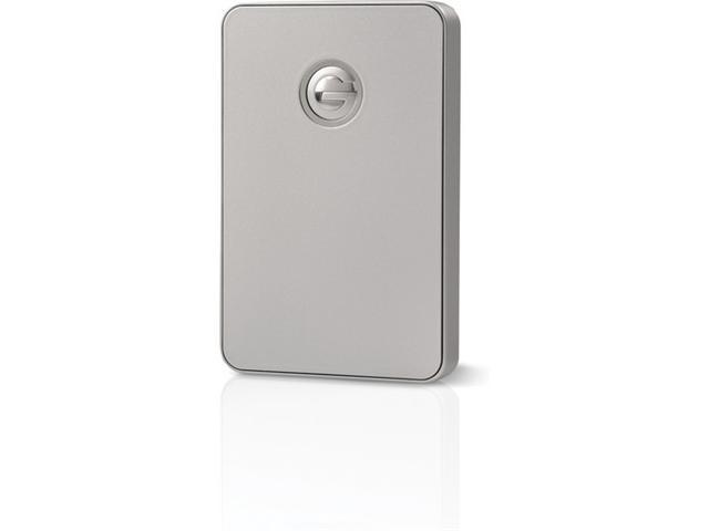 G-Technology G-DRIVE mobile 500GB Portable FireWire and USB 3.0 Drive for Time-Machine (Silver) (0G02383)