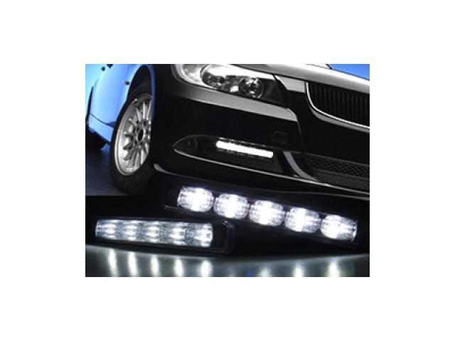 Euro Style High Power LED DRL Daytime Running Light Kit