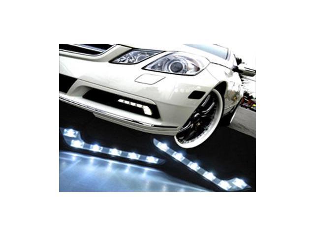 M.Benz Style L Shaped 6 LED DRL Daytime Running Light Kit For KIA Soul