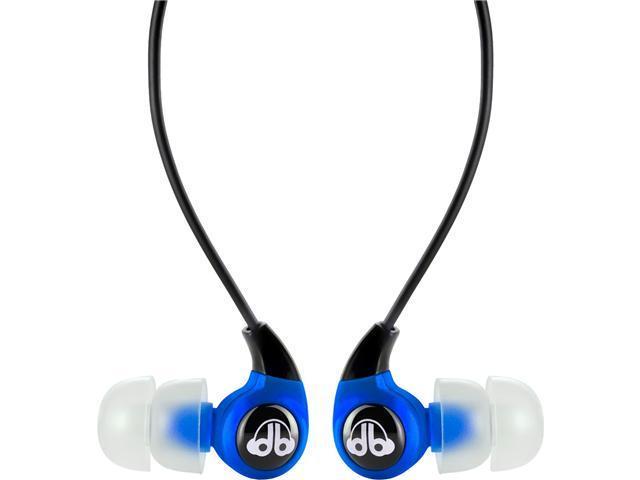 dB Logic EP-100 Earbud Headphones (Blue)