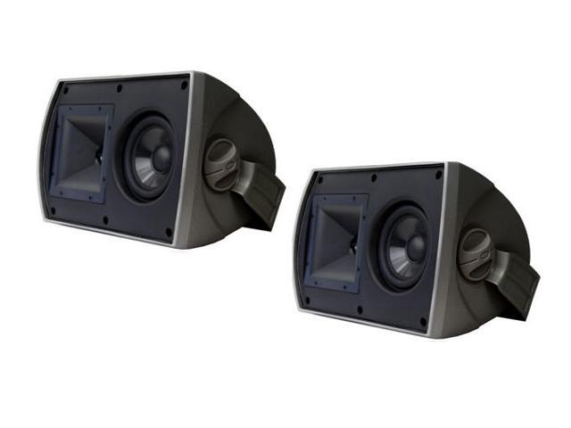 "Klipsch AW 525 5.25"" Reference All-Weather Outdoor Loudspeaker Pair (Black)"
