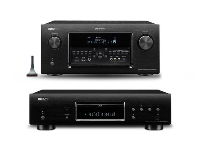 Denon AVR-4520CI 9.2 CH Networking Receiver and DBT-3313UDCI Blu-Ray Disc Player Bundle