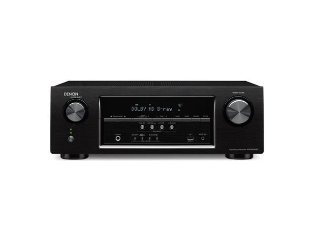 Denon AVR-S500BT 5.2-Channel AV Receiver with Bluetooth and Ultra-HD Pass-Through