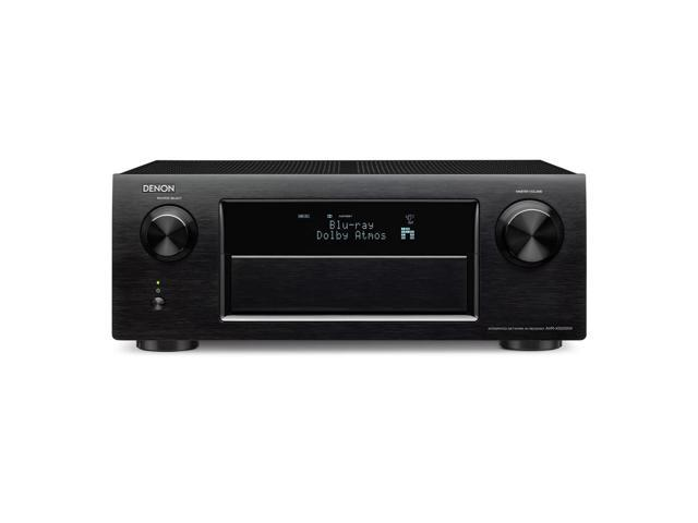 Denon AVR-X5200W 9 Ch A/V Receiver With Wi-fi, Bluetooth And Dolby Atmos (Black)