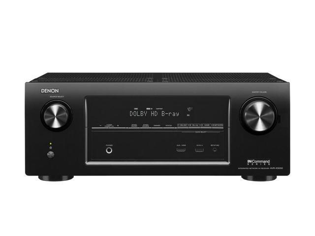 Denon AVR-X3000CI 7.2 Channel 4K Ultra HD Network AV Receiver with AirPlay (Black)