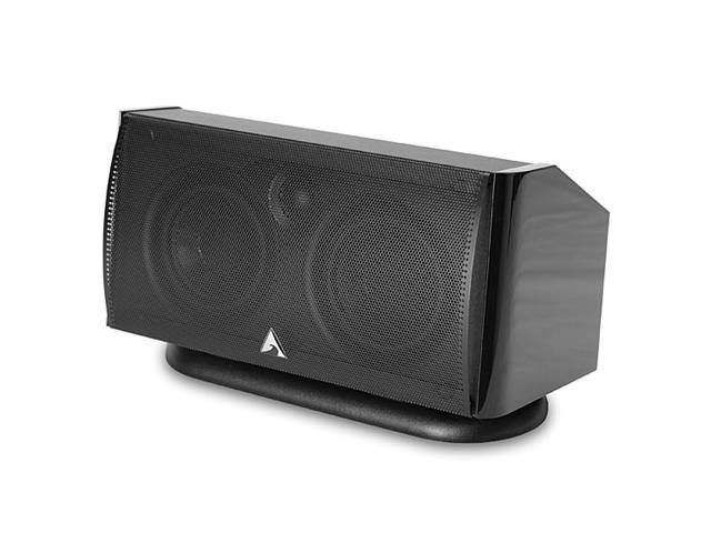 Atlantic Technology 1400 C 125 W RMS Speaker - 2-way - Each (Gloss Black)