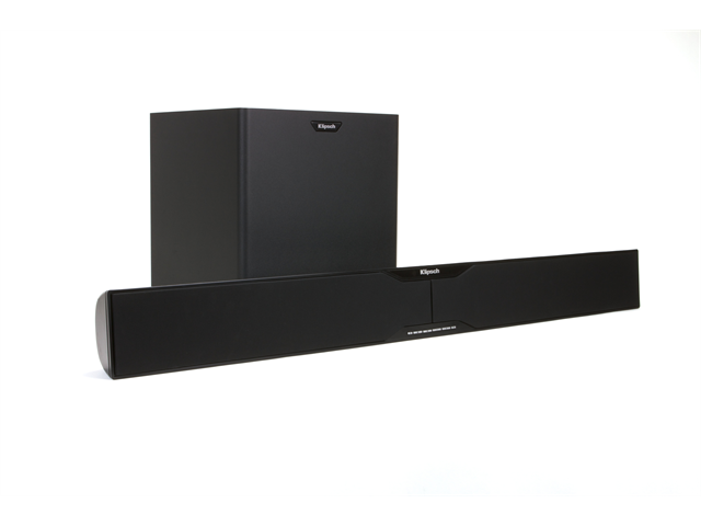 Klipsch HD Theater SB 3 2-Way Soundbar and 10