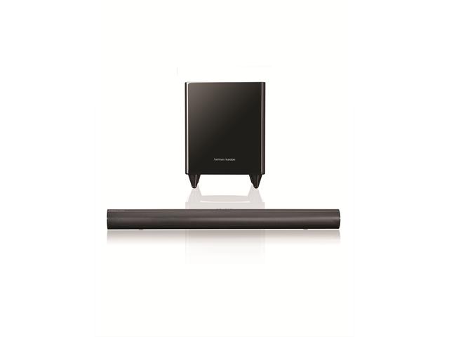 Harman Kardon SB30 Home Theater Soundbar System with Wireless Subwoofer (Black)