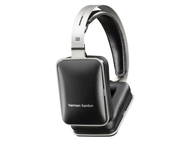 Harman Kardon NC Noise-Cancelling Headphones with Mic (Black)