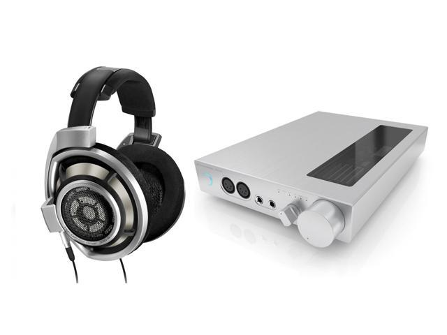 Sennheiser HD800 Professional Studio Over-Ear Headphones and HDVD800 Digital Headphone Amplifier